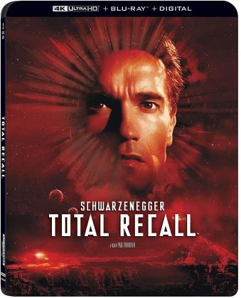 Total Recall (1990) (30th Anniversary Edition, 4K Ultra HD + Blu-ray)