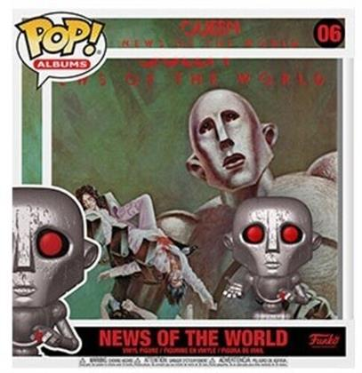 Funko Pop! Albums: - Queen - News Of The World (Metallic)