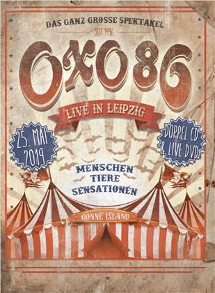 Oxo 86 - Live In Leipzig (2 CDs + DVD)