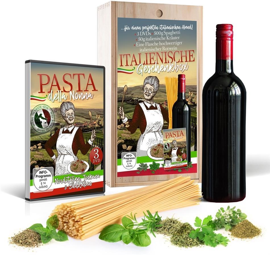 Pasta della Nonna - Italienische Geschenkbox (3 DVDs)