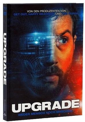 Upgrade (2018) (Cover A, Limited Edition, Mediabook, Blu-ray + DVD)
