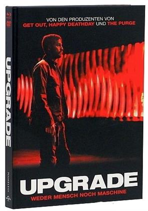 Upgrade (2018) (Cover B, Limited Edition, Mediabook, Blu-ray + DVD)