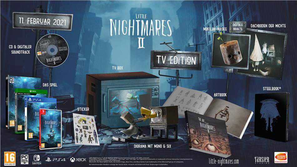 Little Nightmares II - (TV Edition)