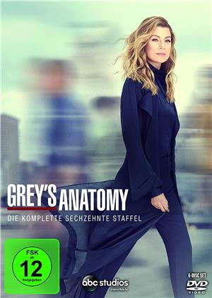 Grey's Anatomy - Staffel 16 (6 DVDs)