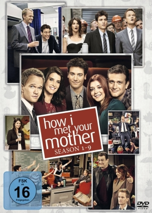 How I Met Your Mother - Die komplette Serie: Staffel 1-9 (New Edition, 27 DVDs)