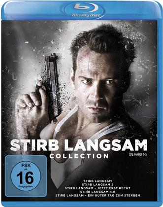 Stirb langsam 1-5 (Neuauflage, 5 Blu-rays)