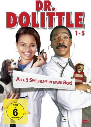 Dr. Dolittle 1-5 (5 DVDs)