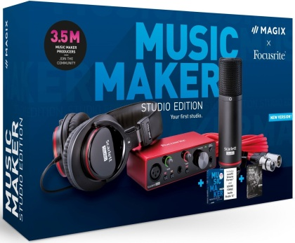 MAGIX Music Maker Studio Edition 2021