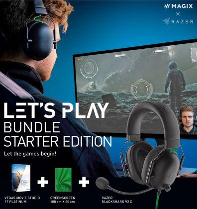 MAGIX Let`s Play Bundle - Starter Edition