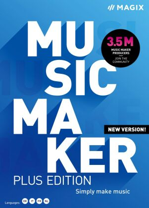 MAGIX Music Maker Plus Edition 2021
