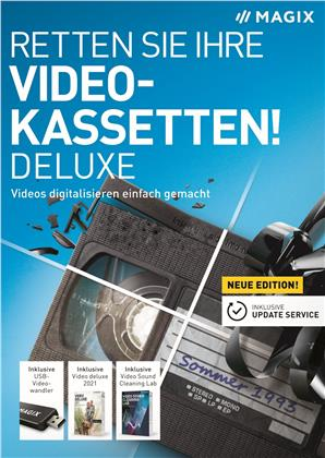 MAGIX Retten Sie Ihre Videokassetten deluxe 2021