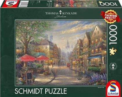 Thomas Kinkade: Cafe in München - 1000 Teile Puzzle