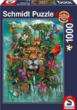 König des Dschungels - 1000 Teile Puzzle