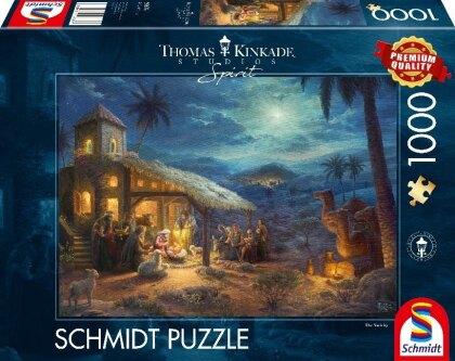 Thomas Kinkade: Spirit - Die Geburt - 1000 Teile Puzzle