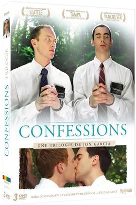 Confessions - Une trilogie de Jon Garcia - Confessions / Le testament de l'amour / L'état de grace (3 DVDs)