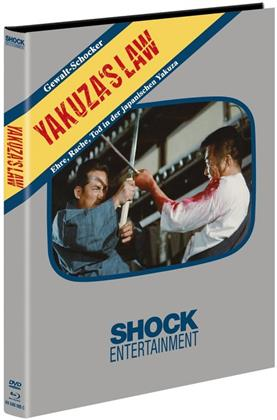 Yakuza's Law (1969) (Cover C, Limited Edition, Mediabook, Blu-ray + DVD)