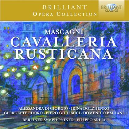 Alessandra di Giorgio, Irina Dolzhenko, Giorgia Teodoro, Pietro Mascagni (1863-1945), Filippo Arlia, … - Cavalleria Rusticana