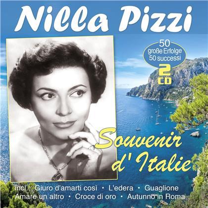 Nilla Pizzi - Souvenir d'Italie - 50 grandi successi (2 CDs)