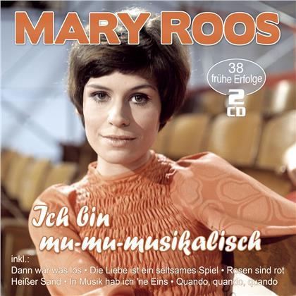 Mary Roos - Ich bin mu-mu-musikalisch - 38 frühe Erfolge (2 CDs)
