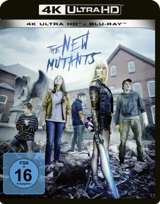 The New Mutants (2020) (4K Ultra HD + Blu-ray)