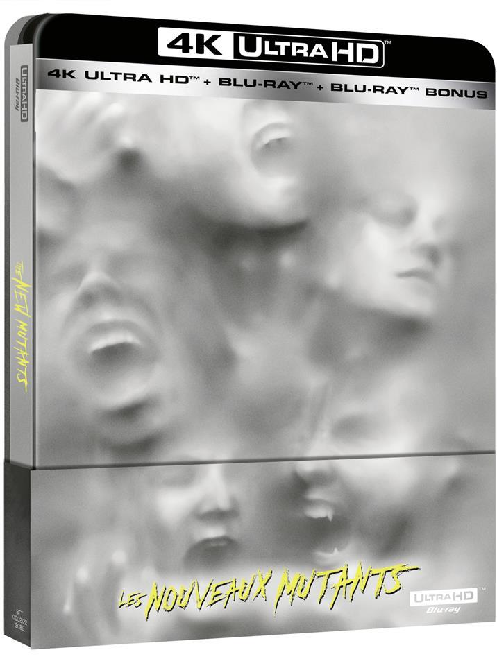 Les Nouveaux Mutants (2020) (Limited Edition, Steelbook, 4K Ultra HD + 2 Blu-rays)