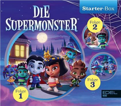 Die Supermonster - Die Supermonster - retten Halloween (3 CDs)
