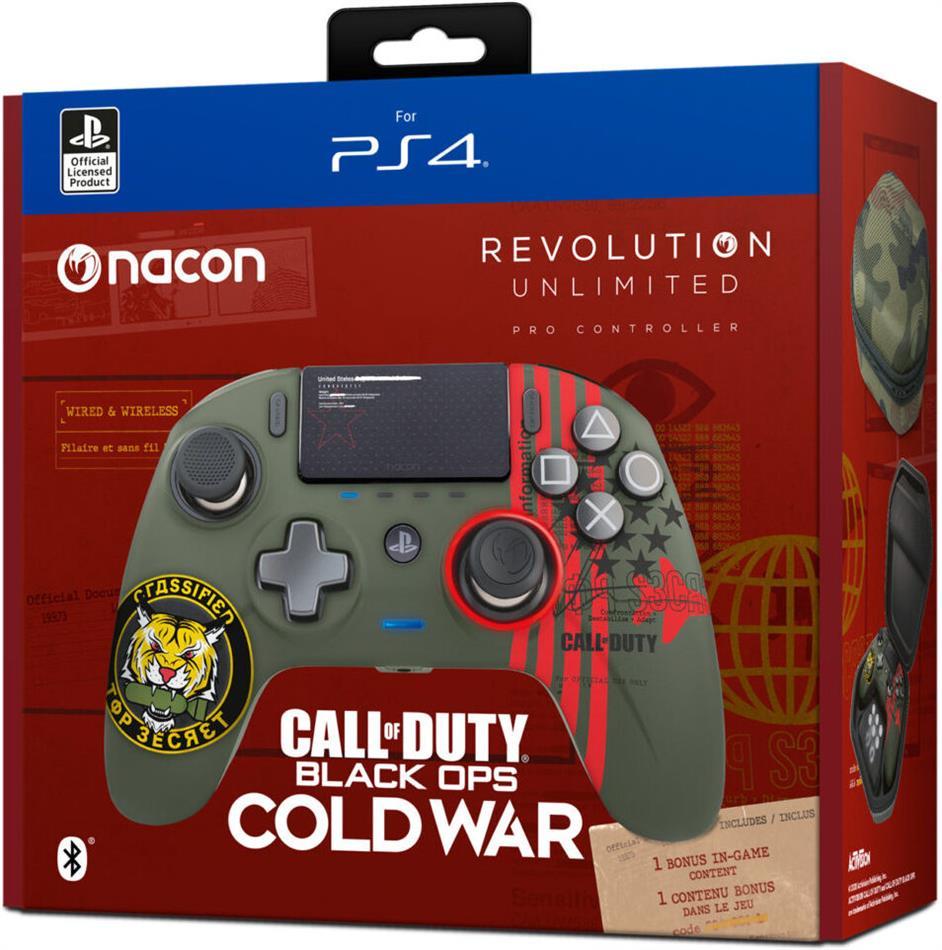 Nacon Revolution Unlimited Pro Controller - COD Black Ops Cold War (Édition Limitée)