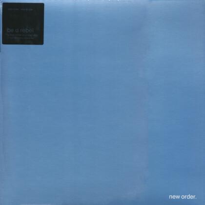 """New Order - Be A Rebel (Grey Vinyl, 12"""" Maxi)"""