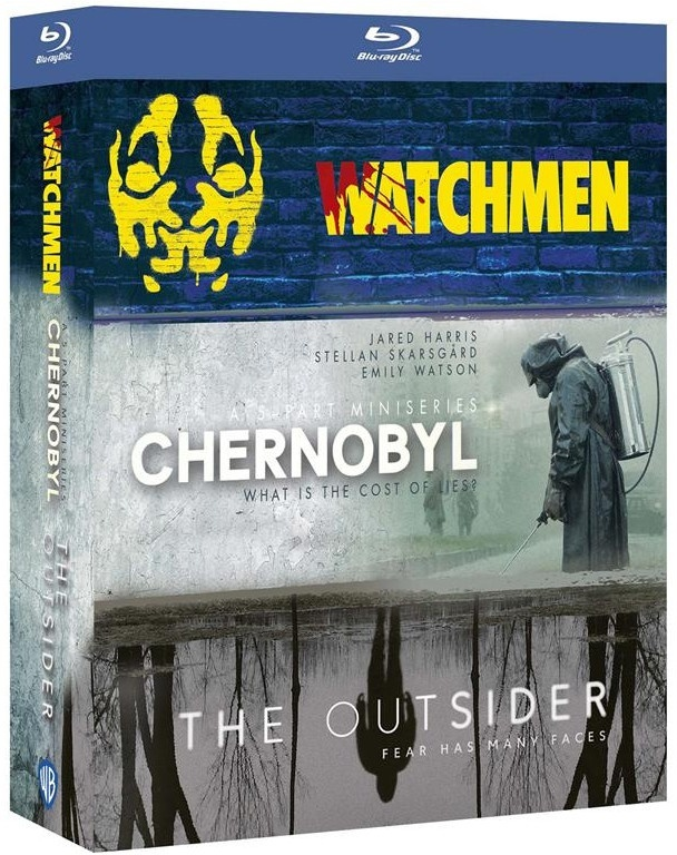 Watchmen / Chernobyl / The Outsider - HBO Decouverte (8 Blu-rays)