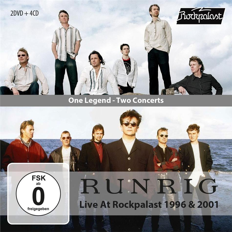 Runrig - One Legend - Two Concerts (Rockpalast 1996 & 2001) (4 CDs + 2 DVDs)