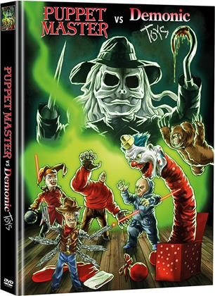 Puppet Master vs Demonic Toys (2004) (Limited Edition, Mediabook, 2 DVDs)