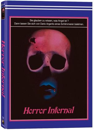 Horror Infernal (1980) (Cover E, Wattiert, Limited Collector's Edition, Mediabook, Blu-ray + 2 DVDs)