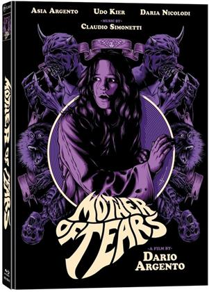 Mother of Tears (2007) (Cover E, Wattiert, Limited Collector's Edition, Mediabook, Blu-ray + 2 DVDs)
