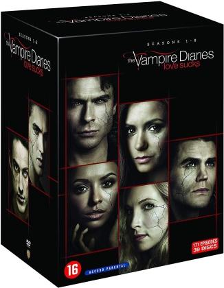 Vampire Diaries - L'intégrale - Saisons 1-8 (39 DVDs)