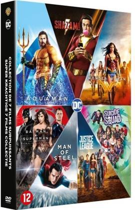 Shazam! / Aquaman / Justice League / Wonder Woman / Suicide Squad / Batman v Superman / Man of Steel (7 DVDs)