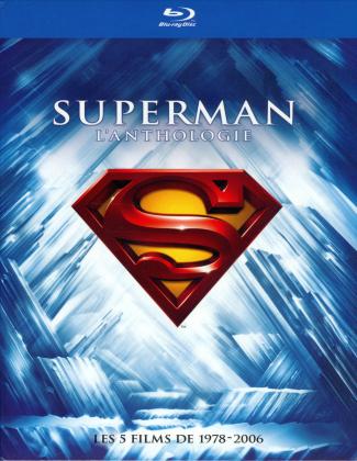 Superman - L'Anthologie - Les 5 Films de 1978-2006 (Deluxe Edition, 8 Blu-rays)