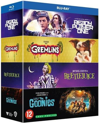 Ready Player One / Gremlins / Beetlejuice / Les Goonies (4 Blu-rays)