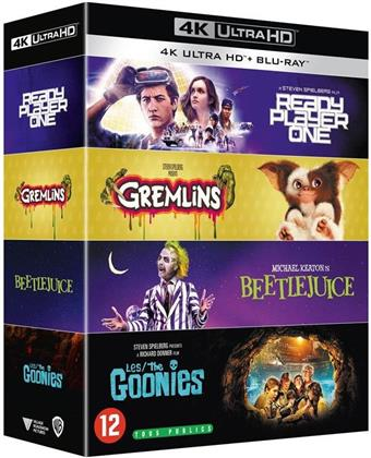 Ready Player One / Gremlins / Beetlejuice / Les Goonies (4 4K Ultra HDs + 4 Blu-rays)