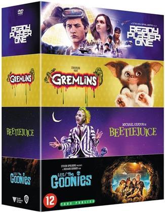 Ready Player One / Gremlins / Beetlejuice / Les Goonies (4 DVDs)