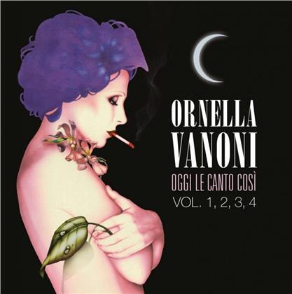 Ornella Vanoni - OGGI LE CANTO COSý VOL. 1, 2, (4 CDs)