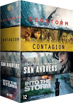 Geostorm / Contagion / San Andreas / Into the Storm - Black Storm (4 DVDs)