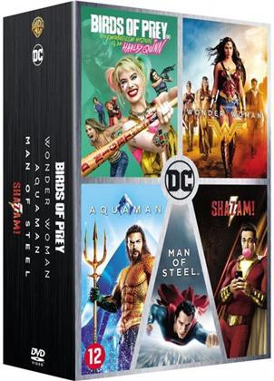 Birds of Prey et la fantabuleuse histoire de Harley Quinn / Wonder Woman / Aquaman / Man of Steel / Shazam! (5 DVDs)