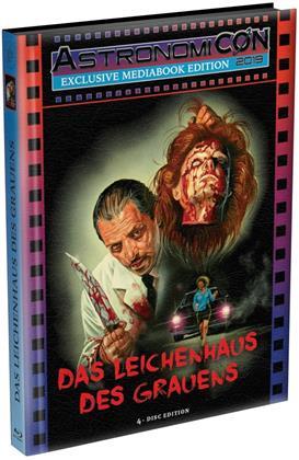 Das Leichenhaus des Grauens (1988) (AstronomiCON Edition, Cover C, Wattiert, Limited Edition, Mediabook, Uncut, 2 Blu-rays + 2 DVDs)