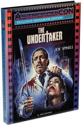 The Undertaker - Das Leichenhaus des Grauens (1988) (AstronomiCON Edition, Cover A, Wattiert, Limited Edition, Mediabook, Uncut, 2 Blu-rays + 2 DVDs)