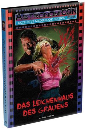 Das Leichenhaus des Grauens (1988) (Wattiert, Cover B, AstronomiCON Edition, Limited Edition, Mediabook, Uncut, 2 Blu-rays + 2 DVDs)