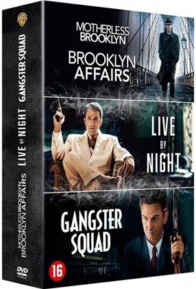 Brooklyn Affairs / Live by Night / Gangster Squad (3 DVDs)