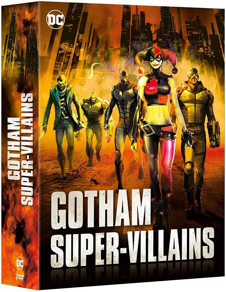 Gotham Super-Villains (6 Blu-ray)