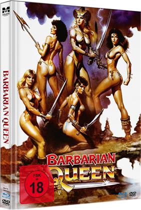 Barbarian Queen (1985) (Limited Edition, Mediabook, Uncut, Blu-ray + DVD)