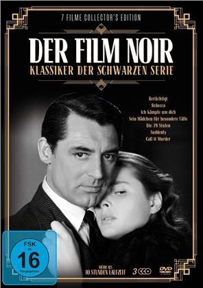 Der Film Noir - Klassiker der Schwarzen Serie (3 DVDs)