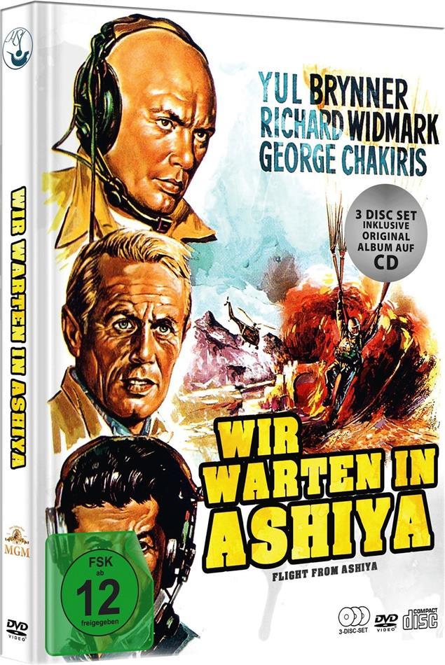 Wir warten in Ashiya (1964) (Limited Edition, Mediabook, 2 DVDs + CD)